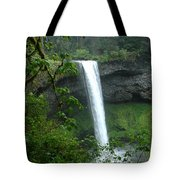 Silver Falls 1 In Oregon Tote Bag