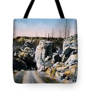 Silver Gate Road Yellowstone Np Tote Bag