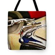 Silver Grayhound Tote Bag