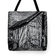 Silver Grey Tote Bag