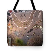 Silver Gull Central Cairns Tote Bag