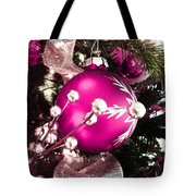 Silver Hollies Tote Bag