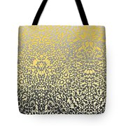 Silver Lace Frost Tote Bag