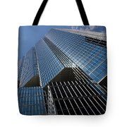 Silver Lines To The Sky - Downtown Toronto Skyscraper Tote Bag