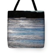 Silver Marsh Tote Bag