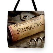 Silver On Silver Tote Bag