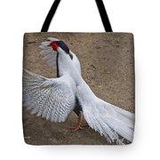 Silver Pheasant Tote Bag