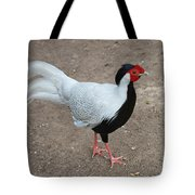 Silver Pheasant Male Tote Bag