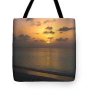 Silver Sea Tote Bag