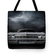 Silver Sixty Five Tote Bag