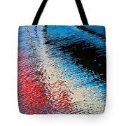 Silver Spirit Abstract Tote Bag
