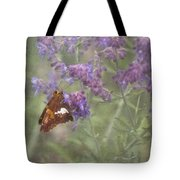 Silver Spotted Skipper Tote Bag
