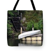 Silver Summer's End Tote Bag