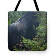 Silverback Side Profile Tote Bag