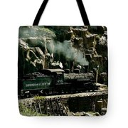 Silverton Steam Locomotive  Tote Bag