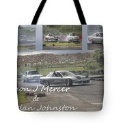 simon Mercer and bredan Johnston Tote Bag