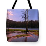 Simple Beauty Of Yellowstone Tote Bag