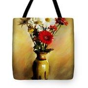 Simple Bouquet Tote Bag