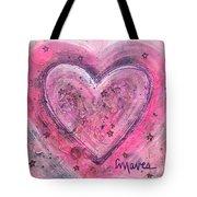 Simple Love Simple Heart Tote Bag