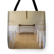 Simple Sunlit Chapel Tote Bag