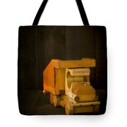 Simpler Times - Old Wooden Toy Truck Tote Bag