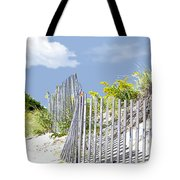 Simplified View Of Coastal Dune Tote Bag