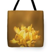 Simplistic Yellow Clover Flower  Tote Bag