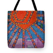 Simply A Sunset I've Never Seen Tote Bag