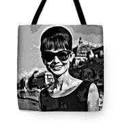 Simply Audrey Tote Bag