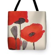 Simply Poppies 1 Tote Bag