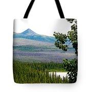 Simpson Peak At Swan Lake-yt Tote Bag