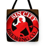 Sin City Brewing  Tote Bag