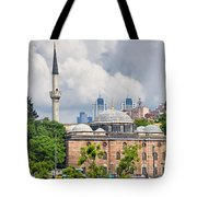 Sinan Pasha Mosque In Istanbul Tote Bag