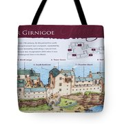 Sinclair Castle Scotland - 8 Tote Bag