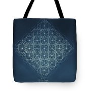 Sine Cosine And Tangent Waves Tote Bag