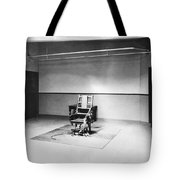 Sing Sing Electric Chair Tote Bag