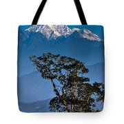 Singalila Ridge Sikkim Tote Bag