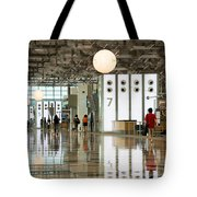 Singapore Changi Airport 02 Tote Bag by Rick Piper Photography