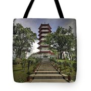 Singapore Chinese Garden Pagoda Tote Bag
