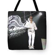 Singer Justin Bieber Tote Bag