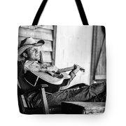 Singing Cowboy Tote Bag