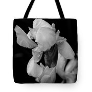 Singing Praise In Black And White Tote Bag