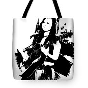 Singing The Blues - Abstract Tote Bag