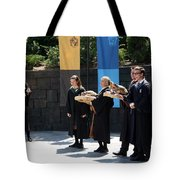 Singing Toads Tote Bag
