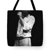 Singing With His Heart And Soul Tote Bag