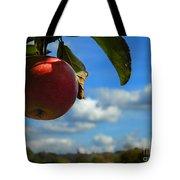 Single Apple Tote Bag