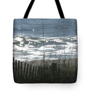 Single Dune Fence Tote Bag
