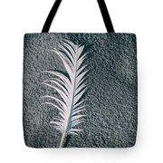Single Feather Tote Bag