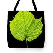 Single Leaf From Raspberry Bush Tote Bag