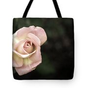 Single Muted Rose Tote Bag